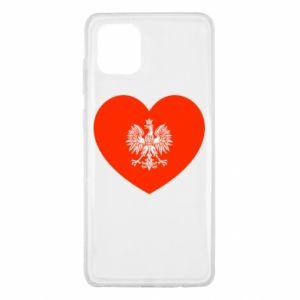 Etui na Samsung Note 10 Lite Eagle in the heart