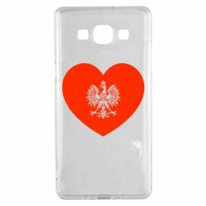 Etui na Samsung A5 2015 Eagle in the heart