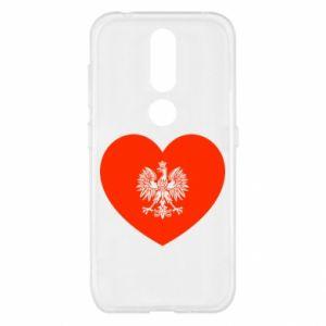 Etui na Nokia 4.2 Eagle in the heart