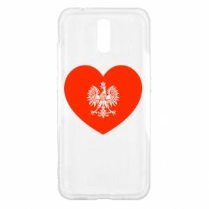 Etui na Nokia 2.3 Eagle in the heart