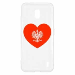 Etui na Nokia 2.2 Eagle in the heart