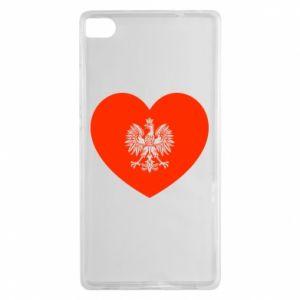 Etui na Huawei P8 Eagle in the heart