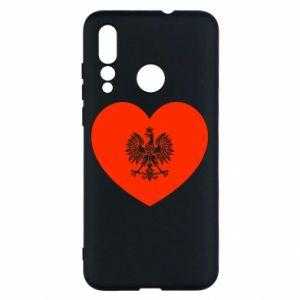 Etui na Huawei Nova 4 Eagle in the heart