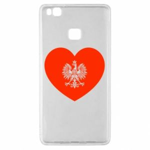 Etui na Huawei P9 Lite Eagle in the heart