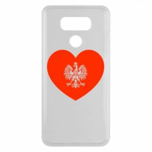 Etui na LG G6 Eagle in the heart