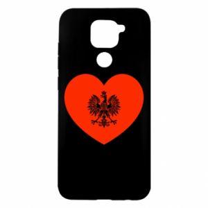 Etui na Xiaomi Redmi Note 9/Redmi 10X Eagle in the heart