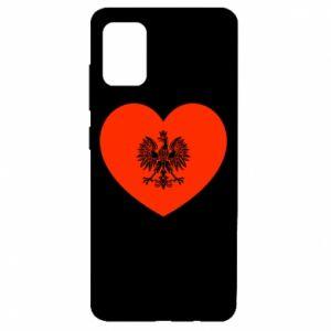Etui na Samsung A51 Eagle in the heart