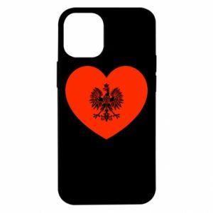 Etui na iPhone 12 Mini Eagle in the heart