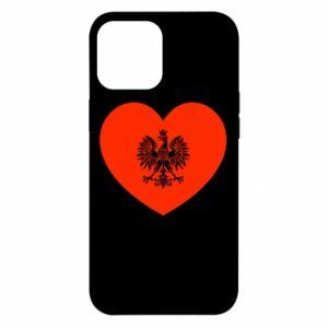 Etui na iPhone 12 Pro Max Eagle in the heart