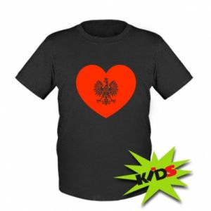 Dziecięcy T-shirt Eagle in the heart