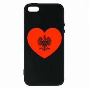 Etui na iPhone 5/5S/SE Eagle in the heart