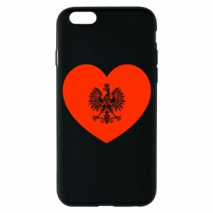 Etui na iPhone 6/6S Eagle in the heart