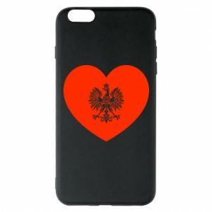 Etui na iPhone 6 Plus/6S Plus Eagle in the heart