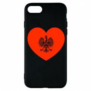 Etui na iPhone 7 Eagle in the heart