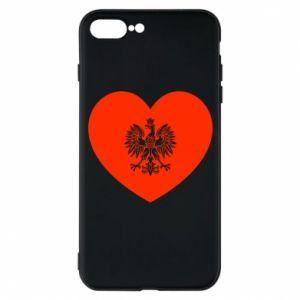 Etui do iPhone 7 Plus Eagle in the heart