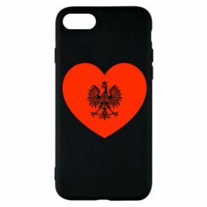 Etui na iPhone 8 Eagle in the heart