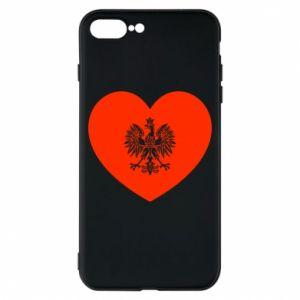 Etui na iPhone 8 Plus Eagle in the heart