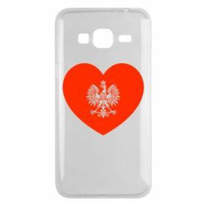 Etui na Samsung J3 2016 Eagle in the heart