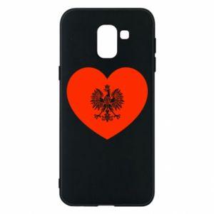 Etui na Samsung J6 Eagle in the heart