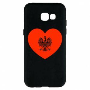 Etui na Samsung A5 2017 Eagle in the heart