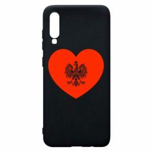 Etui na Samsung A70 Eagle in the heart