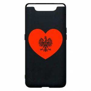 Etui na Samsung A80 Eagle in the heart
