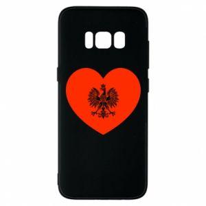 Etui na Samsung S8 Eagle in the heart