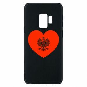 Etui na Samsung S9 Eagle in the heart