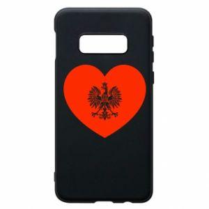 Etui na Samsung S10e Eagle in the heart
