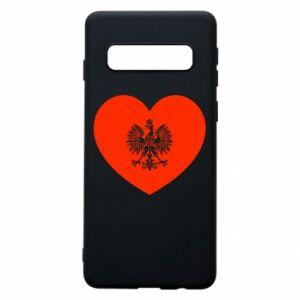 Etui na Samsung S10 Eagle in the heart