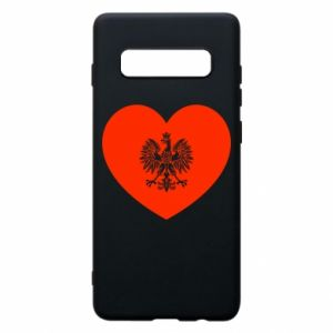 Etui na Samsung S10+ Eagle in the heart