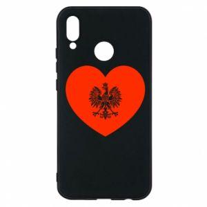 Etui na Huawei P20 Lite Eagle in the heart