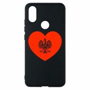Etui na Xiaomi Mi A2 Eagle in the heart