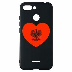 Etui na Xiaomi Redmi 6 Eagle in the heart