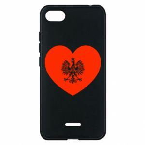 Etui na Xiaomi Redmi 6A Eagle in the heart