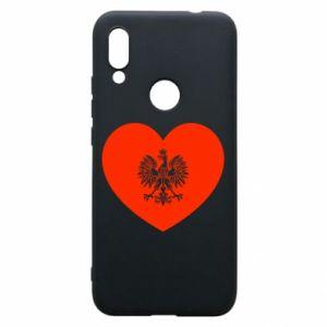 Etui na Xiaomi Redmi 7 Eagle in the heart
