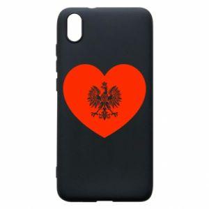 Etui na Xiaomi Redmi 7A Eagle in the heart
