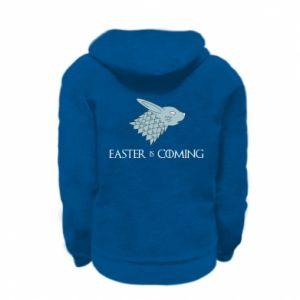 Bluza na zamek dziecięca Easter is coming
