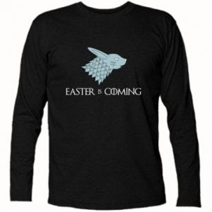 Koszulka z długim rękawem Easter is coming
