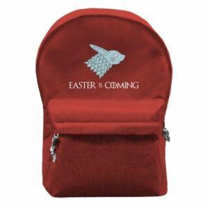 Plecak z przednią kieszenią Easter is coming