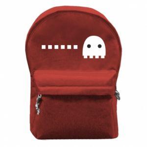 Plecak z przednią kieszenią Eat me