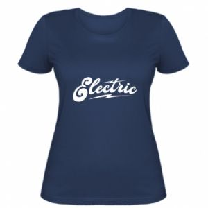 Damska koszulka Electric