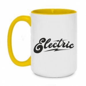 Kubek dwukolorowy 450ml Electric