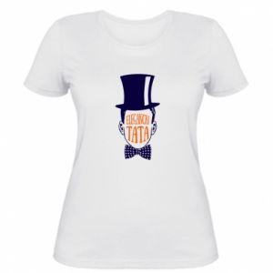 Damska koszulka Elegancki tata