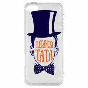 Etui na iPhone 5/5S/SE Elegancki tata