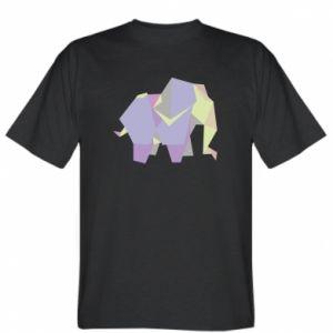 T-shirt Elephant abstraction - PrintSalon