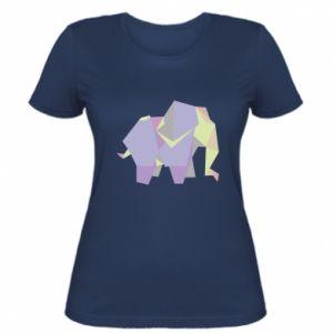 Koszulka damska Elephant abstraction