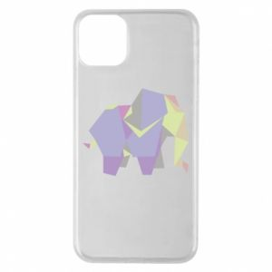 Etui na iPhone 11 Pro Max Elephant abstraction