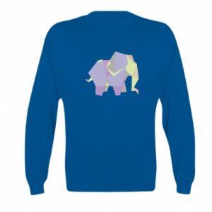 Bluza dziecięca Elephant abstraction