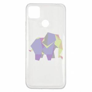 Etui na Xiaomi Redmi 9c Elephant abstraction